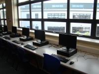 Computers in ICT room