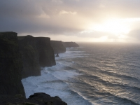 Sunrise at the Cliffs of Mohar; Clare